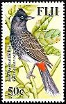 Cl: Red-vented Bulbul (Pycnonotus cafer)(Introduced)  SG 1359 (2007)  [4/19]