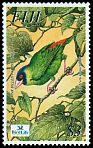 Cl: Pink-billed Parrotfinch (Erythrura kleinschmidti)(Endemic or near-endemic)  SG 1203 (2003)