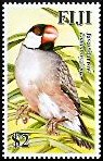 Cl: Java Sparrow (Padda oryzivora)(Introduced)  SG 1362 (2007)  [4/19]