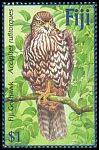 Cl: Fiji Goshawk (Accipiter rufitorques)(Endemic or near-endemic)  SG 1172 (2002)