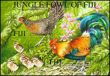 Cl: Red Junglefowl (Gallus gallus)(Introduced)  SG 1122 (2001)