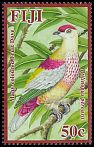 Cl: Many-coloured Fruit-Dove (Ptilinopus perousii)(Endemic or near-endemic)  SG 1419 (2009)  [4/54]