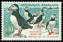 Cl: Atlantic Puffin (Fratercula arctica) <<Macareux>>  SG 1504 (1960) 25