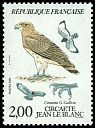 Cl: Short-toed Eagle (Circaetus gallicus) <<Circaete Jean-le-Blanc>>  SG 2644 (1984) 80 [3/17]
