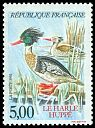 Cl: Red-breasted Merganser (Mergus serrator) <<Harle huppe>>  SG 3111 (1993) 200