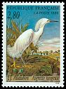 Cl: Snowy Egret (Egretta thula) <<Aigrette neigeuse>> (Out of range)  SG 3250 (1995) 160