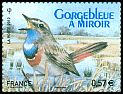Cl: Bluethroat (Luscinia svecica) SG 5168b (2012)  [6/54]