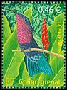 Cl: Purple-throated Carib (Eulampis jugularis) <<Colibri grenat>>  SG 3888 (2003) 140