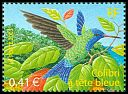 Cl: Blue-headed Hummingbird (Cyanophaia bicolor) <<Colibri a tete bleue>>  SG 3886 (2003) 110