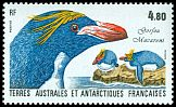 French Southern and Antarctic Territory <<Gorfou macaroni>> SG 226 (1987)