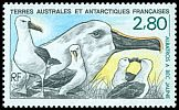 French Southern and Antarctic Territory <<Albatros a bec jaune>> SG 262 (1990)