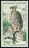 Cl: Crowned Hawk-Eagle (Stephanoaetus coronatus) SG 173 (1964) 1000