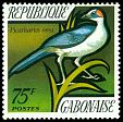 Cl: Grey-necked Rockfowl (Picathartes oreas) SG 435 (1971) 400