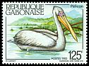 Cl: Pink-backed Pelican (Pelecanus rufescens) SG 850 (1983) 130