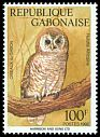 Cl: African Wood-Owl (Strix woodfordii) <<Hulotte Africaine>>  SG 1131 (1992) 180