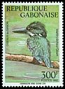 Cl: Giant Kingfisher (Megaceryle maximus) <<Martin-pecheur geante>>  SG 1134 (1992) 575