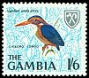 Cl: African Pygmy-Kingfisher (Ispidina picta) <<Chikoro longo>> (Repeat for this country)  SG 241 (1966) 50