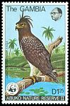 Cl: Long-crested Eagle (Lophaetus occipitalis) SG 403 (1978) 0