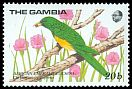 Cl: African Emerald Cuckoo (Chrysococcyx cupreus)(Repeat for this country)  SG 868 (1989) 60