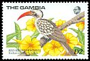Cl: Red-billed Hornbill (Tockus erythrorhynchus)(Repeat for this country)  SG 872 (1989) 150