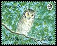 Cl: Northern White-faced Owl (Ptilopsis leucotis) SG 1012 (1990) 50