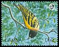 Cl: Village Weaver (Ploceus cucullatus)(Repeat for this country)  SG 1013 (1990) 50