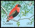 Cl: Orange Bishop (Euplectes franciscanus) SG 1016 (1990) 50