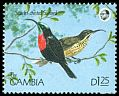 Cl: Scarlet-chested Sunbird (Chalcomitra senegalensis) SG 1017 (1990) 70