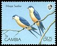 Cl: Mosque Swallow (Cecropis senegalensis) SG 1019 (1990) 70