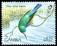 Cl: Variable Sunbird (Cinnyris venustus) SG 1026 (1990) 50