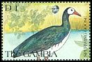 Cl: Spur-winged Goose (Plectropterus gambensis)(Repeat for this country)  SG 1115 (1991) 30
