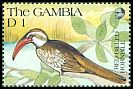 Cl: Red-billed Hornbill (Tockus erythrorhynchus)(Repeat for this country)  SG 1116 (1991) 30