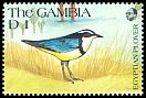 Cl: Egyptian Plover (Pluvianus aegyptius)(Repeat for this country)  SG 1119 (1991) 60