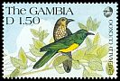 Cl: African Emerald Cuckoo (Chrysococcyx cupreus)(Repeat for this country)  SG 1126 (1991) 40
