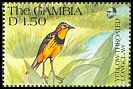 Cl: Yellow-throated Longclaw (Macronyx croceus) SG 1135 (1991) 40
