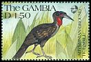 Cl: Abyssinian Ground-Hornbill (Bucorvus abyssinicus) SG 1136 (1991) 60