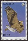 Cl: Osprey (Pandion haliaetus)(Repeat for this country)  SG 1500 (1993) 80