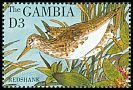 Cl: Common Redshank (Tringa totanus) SG 1977 (1995) 80