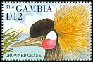 Cl: Black Crowned-Crane (Balearica pavonina)(Repeat for this country)  SG 1983 (1995) 225