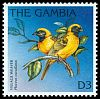 Cl: Village Weaver (Ploceus cucullatus)(Repeat for this country)  SG 2383 (1996) 65