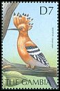 Cl: Eurasian Hoopoe (Upupa epops)(Repeat for this country)  SG 3746 (2000)