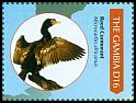 Cl: Long-tailed Cormorant (Phalacrocorax africanus)(I do not have this stamp)  SG 5454e (2011)
