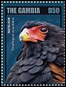 Cl: Bateleur (Terathopius ecaudatus)(Repeat for this country) (I do not have this stamp)  new (2014)