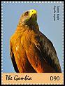 Cl: Tawny Eagle (Aquila rapax)(I do not have this stamp)  new (2018)