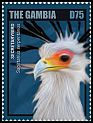 Cl: Secretarybird (Sagittarius serpentarius)(Repeat for this country) (I do not have this stamp)  new (2014)
