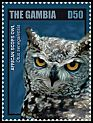 Cl: African Scops-Owl (Otus senegalensis)(I do not have this stamp)  new (2014)