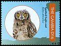 Cl: Spotted Eagle-Owl (Bubo africanus)(I do not have this stamp)  SG 5454f (2011)