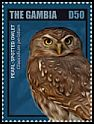 Cl: Pearl-spotted Owlet (Glaucidium perlatum)(Repeat for this country) (I do not have this stamp)  new (2014)