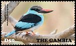 Cl: Blue-breasted Kingfisher (Halcyon malimbica)(I do not have this stamp)  new (2015)