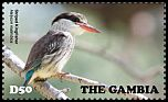 Cl: Striped Kingfisher (Halcyon chelicuti)(I do not have this stamp)  new (2015)